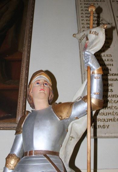 Jeanne d'Arc - Buste après rénovation